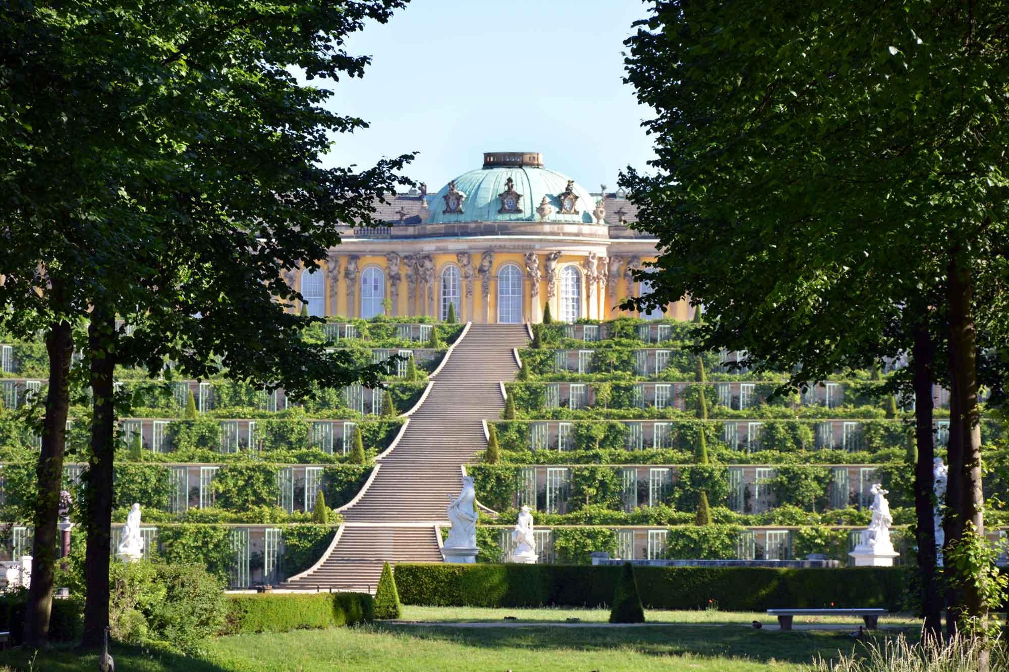 Reiseservice Potsdam - Schloss Sanssouci